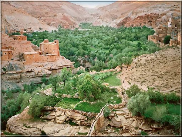 وادي دادس هو نهر في المغرب 533gorges-de-dades
